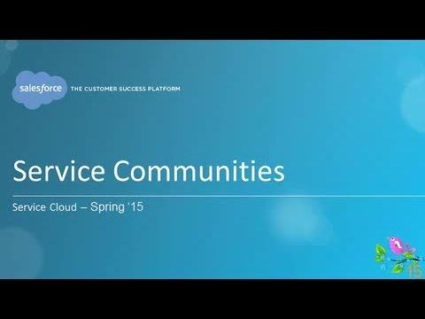 Spring '15 - Service Communities
