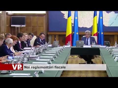 Noi reglementări fiscale