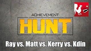 Achievement HUNT  61 – Ray vs. Matt vs. Kerry vs. Kdin – RT play more Smash 4