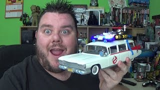 Playmobil Ghostbusters Ecto-1 Vehicle (9220) Unboxing Review - Hey guys its me your host SUPERSORRELL and today I am reviewing the Playmobil 9220 Ghostbusters™ Ecto 1 with Lights and Sound Go on exciting ghost hunt with the original PLAYMOBIL Ghostbusters Ecto 1! In the car there is enough space for four Ghostbusters figures, as well as proton packs, ghost traps and additional accessories. The roof can be taken off and the boot/trunk can be opened. Watch out ghosts, get out of the way, the Ghostbusters are coming! Siren and flashlights on the roof can be switched on and off with separate buttons. In addition the play set includes two removable proton packs with proton beams, PKE meter for measuring psychokinetic energy, as well as silicone slime splashes that stick on smooth surfaces. Includes Winston Zeddemore and Janine Melnitz. Children can recreate their favourite paranormal adventures with the Playmobil Ghostbusters Ecto-1 toy. Join Ghostbusters Winston Zeddemore and Janine Melnitz, dressed in their iconic movie outfits as they battle spooky spectres! The Playmobil vehicle offers space for all four Ghostbusters figures, their proton packs, ghost traps and other equipment. Race through New York City in the Ecto-1 vehicle, featuring authentic lights and sounds and equip the two included proton packs to defend the city! With the working light and sound module on the roof, the original siren sound and blue light can be activated using the separate buttons. Other accessories: Two detachable proton packs with proton wands, opening ghost trap, PKE meter for measuring psychokinetic energy, and a silicone slime blower which sticks to smooth surfaces. Please Subscribe and Support the channel!! https://www.youtube.com/channel/UC23U4jpP2BAw8uxaH4Zwh8g?sub_confirmation=1 Fan Mail *********SUPER SORRELL, PO Box 267, Pontefract, WF8 8DHMy Links*********Business Enquiries: Supersorrell@live.co.ukInstagram: https://www.instagram.com/supersorrellTwitter: https://twitter.com/supe