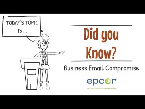 Business Email Compromise Scams