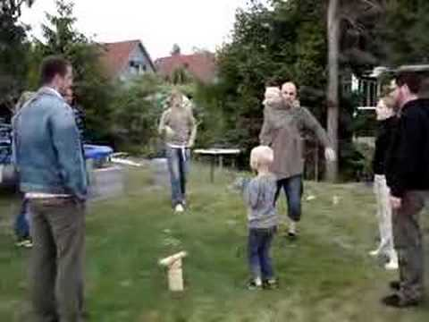 Swedish grown-ups playing frogs!