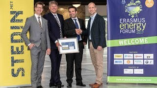 Solar panels which produce electricity and heat will help the energy transition. During the 2017 Erasmus Energy Forum, Rotterdam School of Management awarded Solarus, a producer of these solar panels with the Stedin Erasmus Energy Business Award Ceremony for their innovative business model. http://bit.ly/2tCJQTp
