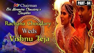 Rachana choudary vishnu teja wedding part 04 ntv