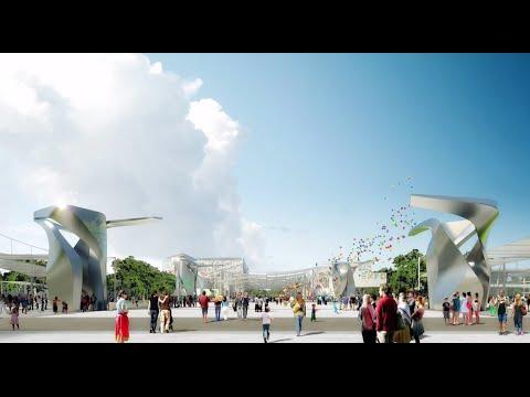 Le quattro sculture di Daniel Libeskind