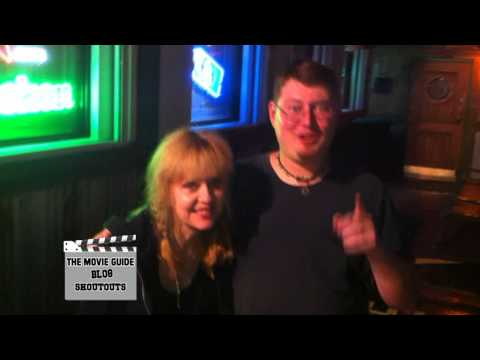 Michael Hoffman Director of Girls Gone Dead and Linnea Quigley Shoutout To The Movie Guide Blog