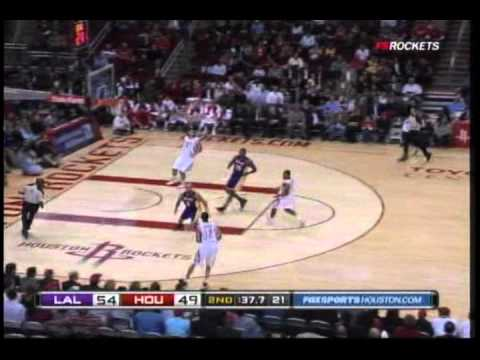 Houston Rockets 11-0 second quarter run vs. Lakers