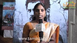 Uma Devi Speaks at Madras Audio Launch