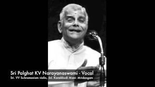 Sri. Palghat KV.Narayanaswamy Singing Paramaatmudu In Raga Vagadeeswari.