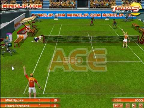 miniclip flash tennis