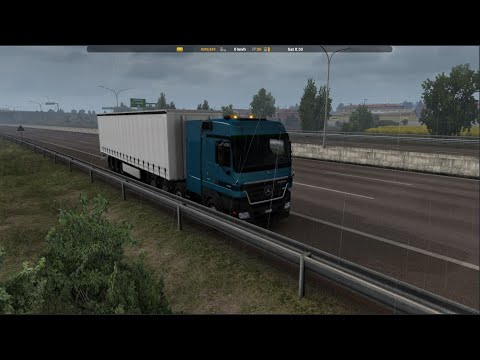 Mercedes-Benz Actros MP2 Black Edition by Dotec Fixed v1.1