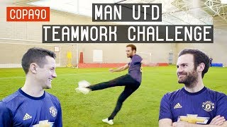 Video Mata vs Herrera - Manchester United Teamwork Challenge MP3, 3GP, MP4, WEBM, AVI, FLV November 2018