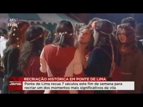 Recriação histórica em Ponte de Lima