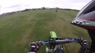 6. KX 250 vs KX450F vs KX250F drag racing Police Turn Up