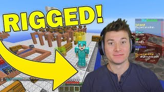 Minecraft Streamer RIGGED the server... (Hacks?)
