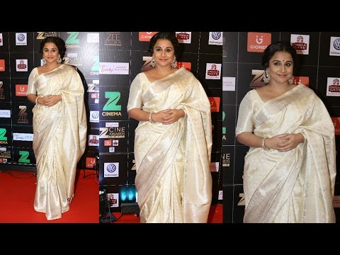 Vidya Balan At The Zee Cine Awards 2017