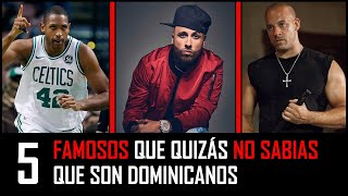 Video Famosos que quizás no sabias que son Dominicanos MP3, 3GP, MP4, WEBM, AVI, FLV Juli 2018
