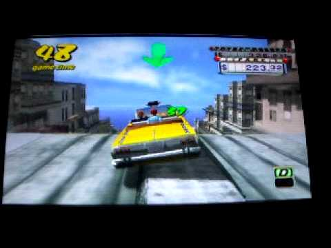 Crazy Taxi : Fare Wars PSP
