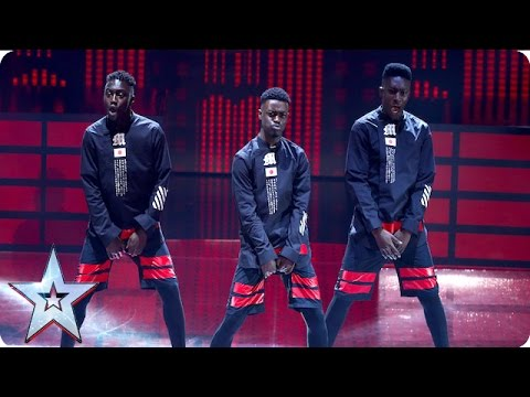 Mythical PSM bring their slick moves to the Semi-Finals | Semi-Final 2 | Britain's Got Talent 2016