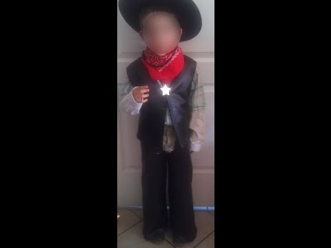 Faire soi-même un déguisement de cow-boy pour enfants