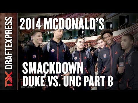 Duke vs. UNC Smackdown Part 8 - 2014 McDonald's All-American Game