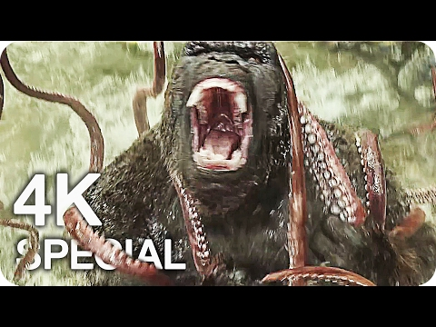 KONG SKULL ISLAND Trailer & Film Klip 4K UHD (2017) King Kong Movie