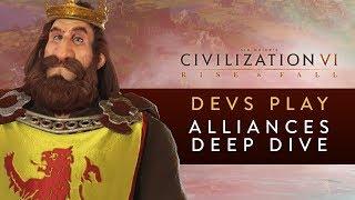 Video Civilization VI: Rise and Fall - Devs Play Scotland (Alliances Deep Dive) MP3, 3GP, MP4, WEBM, AVI, FLV Maret 2018