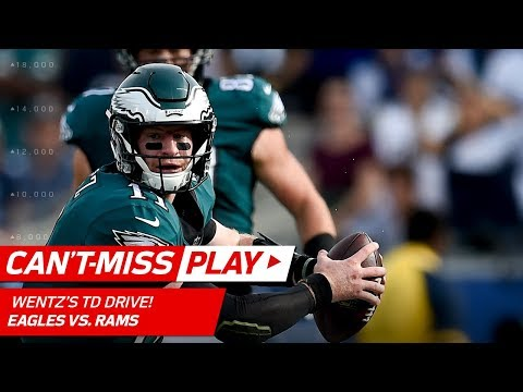 Video: Carson Wentz Continues to Make Magic on TD Drive vs. LA! | Can't-Miss Play | NFL Wk 14 Highlights