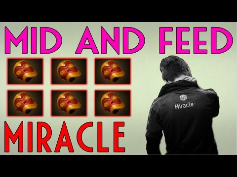 Miracle Huskar - Solo Mid and Feed with Six Bracer