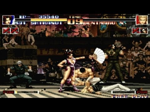 the king of fighters 94 neo geo cd