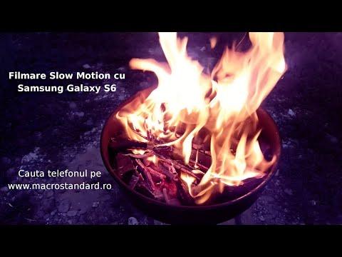 Filmare Slow Motion cu Samsung Galaxy S6