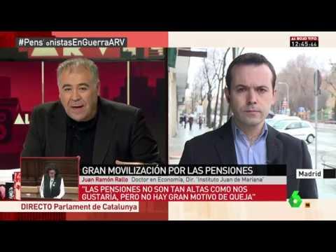 La crisis de las pensiones públicas - 1/3/2018
