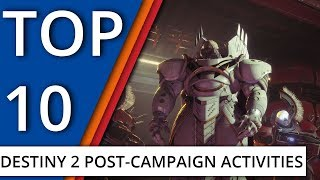 Top 10 things to do after the Destiny 2 campaign