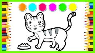 Glitter Kucing Cara Menggambar dan Mewarnai Hewan Kesayangan Nabi Muhamad SAW ~ Pony Toy Art ~ ☆