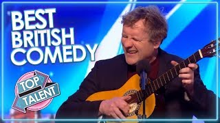 Video BEST COMEDIANS On Britain's Got Talent! | Top Talent MP3, 3GP, MP4, WEBM, AVI, FLV Juni 2019