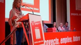 Intervención de Eva Díaz Tezanos en XI Congreso Regional de CCOO Cantabria