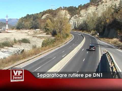 Separatoare rutiere pe DN 1