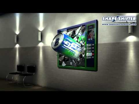 advertising media 3D WallGraphics Movie