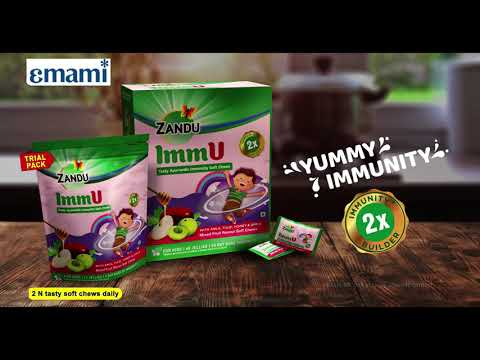 Zandu ImmU Soft Chews- Taste me yummy, Immunity badhe dugni