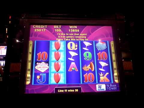 Las Vegas slot bonus win at Sands Casino