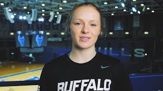 Hanna Hall, UB Bulls Division 1 point guard discusses her struggle with mental illness.
