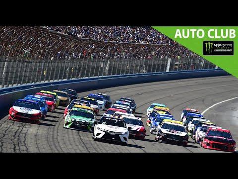 Monster Energy NASCAR Cup Series - Full Race - Auto Club 400