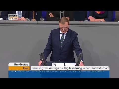 Bundestagsdebatte zur Digitalisierung in der Landwirt ...