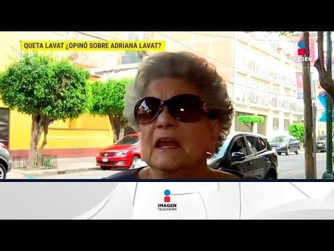 Queta Lavat asegura que no tiene ninguna relación con Adriana Lavat   De Primera Mano