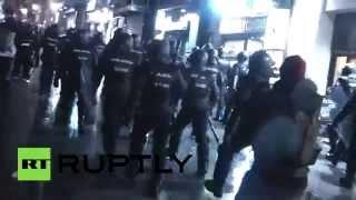 «Марш достоинства» в Мадриде закончился беспорядками
