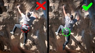 HOW TO USE COORDINATION and MOMENTUM when CLIMBING DYNAMIC by  rockentry