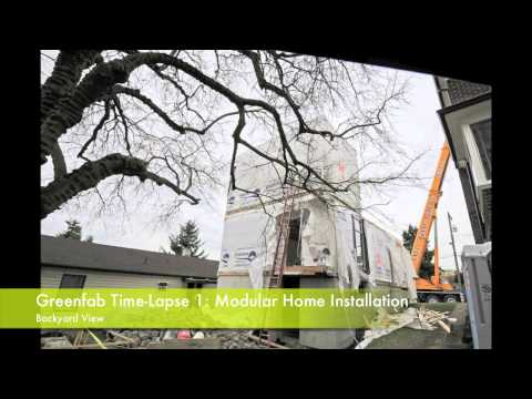 Prefab Modular Home Installation Time-Lapse Video 1.mov