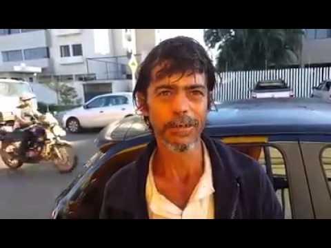 EXCLUSIVO - Jalesense morador de rua em Cuiabá, procura sua família em Jales.