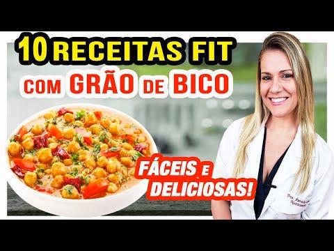 Nutricionista - 10 Formas de Usar Grão de Bico [RECEITAS FIT Fáceis e Rápidas]