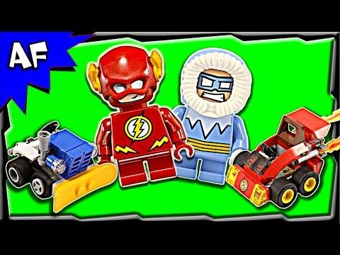 Vidéo LEGO DC Comics Super Heroes 76063 : Flash contre Captain Cold